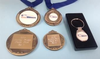 Pedal Prix / HPV Medals & Keyring