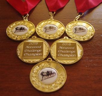 Norwood Challenge Medals